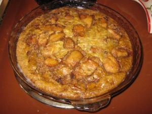 Baked Apple Pancake - Made by Davonne and Lily Parks