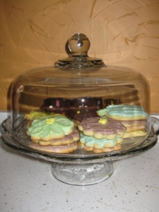 Sugar Cookies – Made by Carol Gartman and Davonne and Lily Parks (recipe not available)